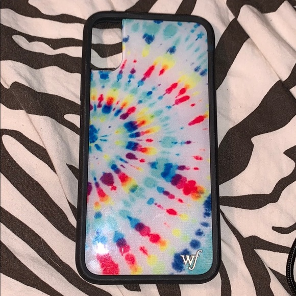 newest collection f37e4 955b2 Wildflower Tie Dye IPhone X/XS case
